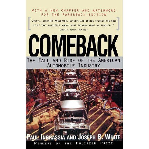 Comeback - by  Ingrassia (Paperback) - image 1 of 1