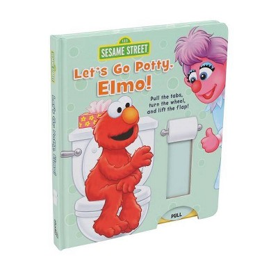 Sesame Street: Let's Go Potty, Elmo! - 2nd Edition by Lori C Froeb (Board Book)