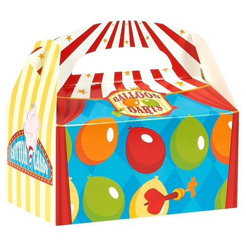 8 ct Carnival Games Favor Boxes - image 1 of 1