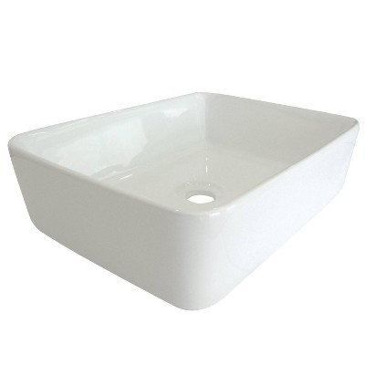 Classic Vitreous China Vessel Bathroom Sink - Kingston Brass
