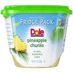 Dole Pineapple Chucks in 100 Juice - 15oz