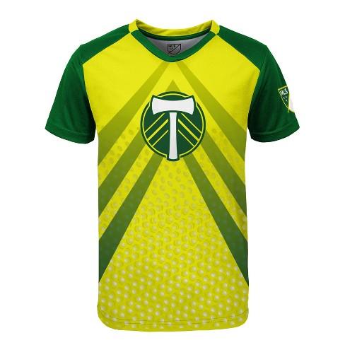 buy popular acf4e d4937 MLS Boys Poly Jersey Portland Timbers - XS