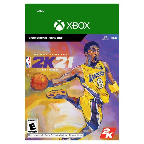 NBA 2K21: Mamba Forever Edition - Xbox One/Series X (Digital) - image 1 of 1