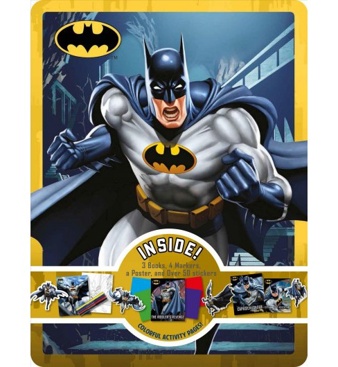Batman Collector's Tin (Paperback) - image 1 of 1