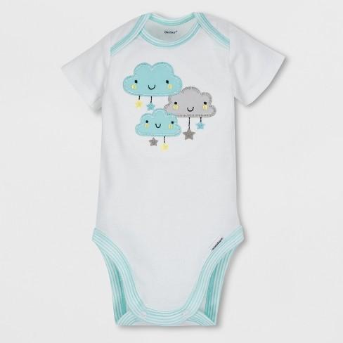 e050204182a4 Gerber Baby 4pc Short Sleeve Bodysuit