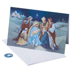 40ct American Greetings Nativity Greeting Cards