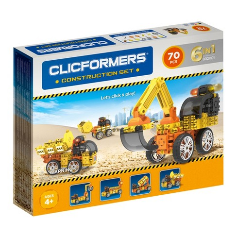 Clicformers Construction Set - 70pc - image 1 of 4