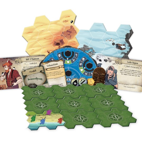 Fantasy Flight Games Discover Lands Unknown Board Game image number null