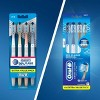 Oral-B Cross Action All In One Manual Soft Toothbrush - 4ct - image 3 of 4