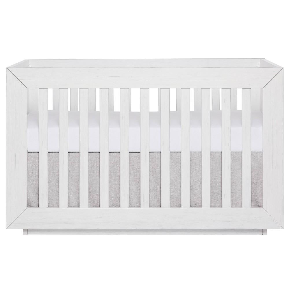 Image of Evolur Maddox Modern Crib - Weathered White