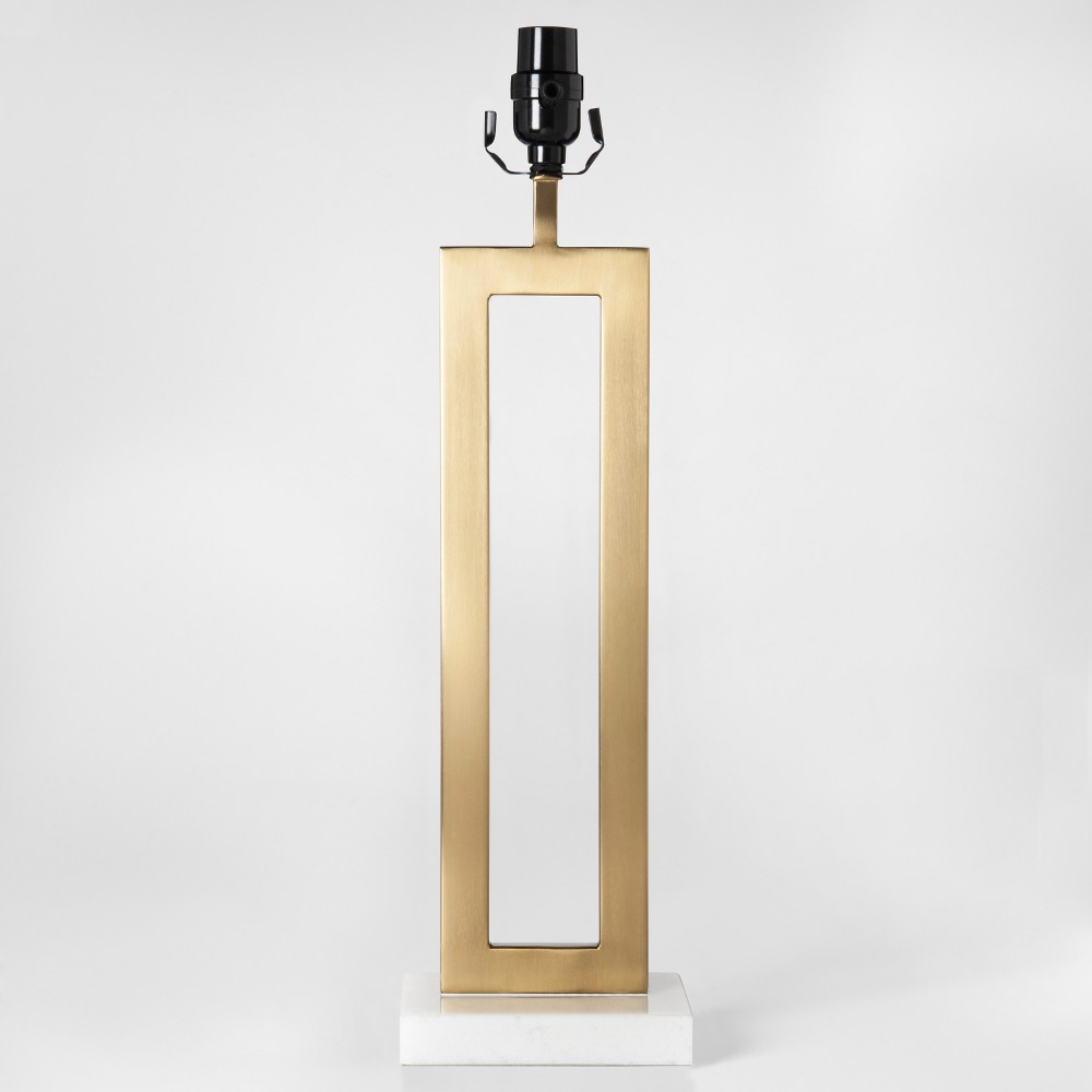 Weston Window Large Lamp Base Brass Lamp Only - Project 62
