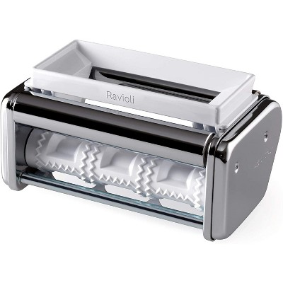 Marcato Ravioli Cutter Attachment, Made in Italy, Works with Atlas 150 Pasta Machine, 7.25 x 4.5-Inches