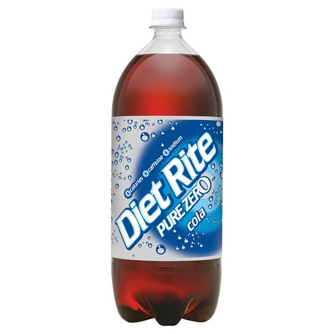 Diet Rite Cola - 2 L Bottle - image 1 of 1