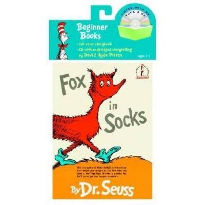 Fox in Socks Book & CD - (Beginner Books Read-Along Book & Audio) (Mixed Media Product)