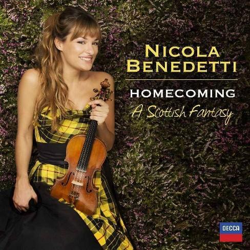 Nicola Benedetti - Homecoming: A Scottish Fantasy (CD) - image 1 of 1
