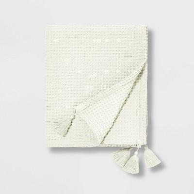 Waffle Throw Cream - Pillowfort™