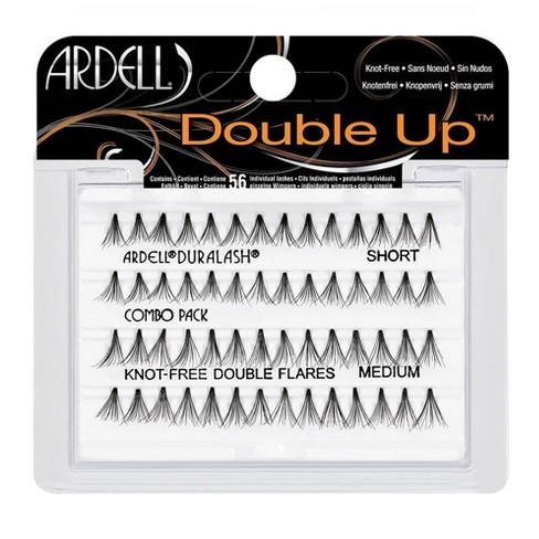 Ardell Eyelash Individual DoubleUp Short & Medium Black - 56ct - image 1 of 3