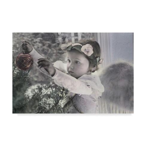 "Trademark Fine Art 47"" X 30"" Gail Goodwin 'Holiday Wonder' Canvas Art - image 1 of 3"