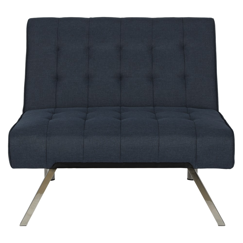 Eve Chair Navy (Blue) Linen - Dorel Home Products