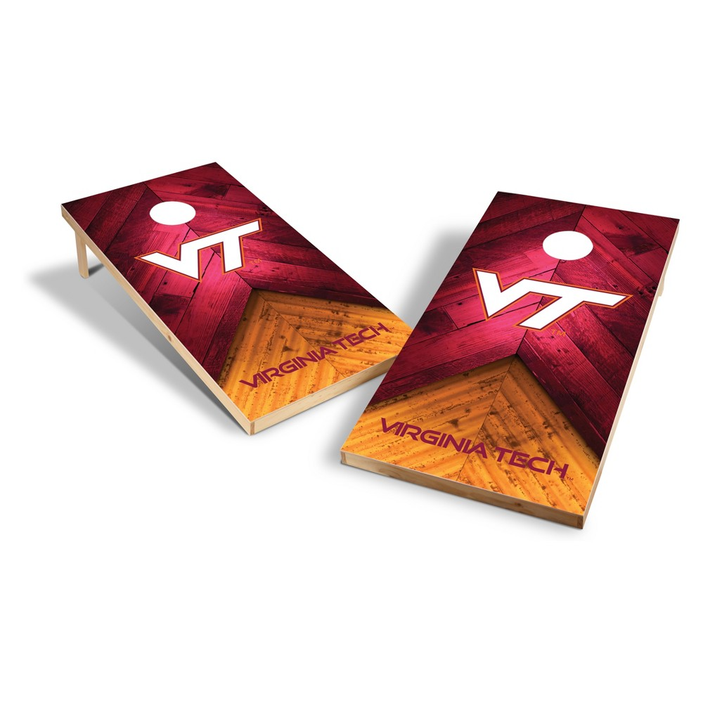 NCAA Virginia Tech Hokies 2x4ft Tailgate Toss Cornhole Game