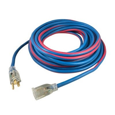 USW 12/3 Extreme Cold Weather Extension Cords with Lighted Plug