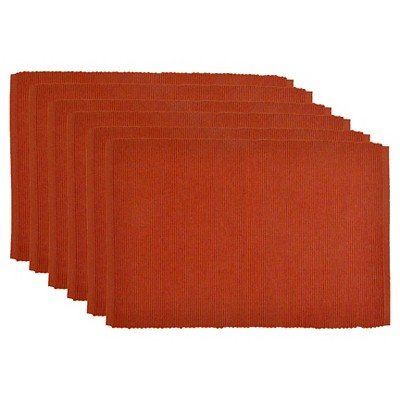 Orange Spice Placemat (Set Of 6)(13 X19 )- Design Imports