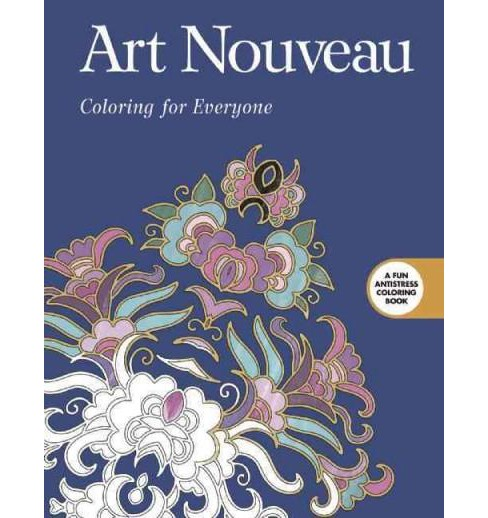 Art Nouveau Adult Coloring Book: Coloring for Everyone - image 1 of 1