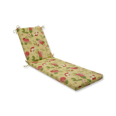 Indoor Outdoor Risa Lemonade Gold Chaise Lounge Cushion Pillow Perfect Target