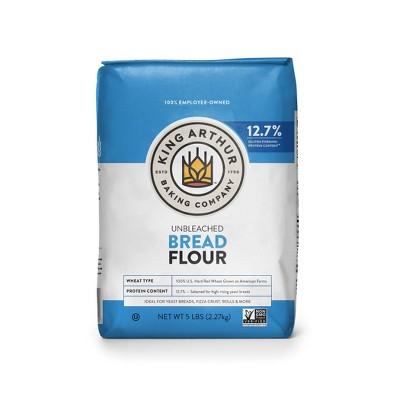 King Arthur Flour Unbleached Bread Flour - 5lbs