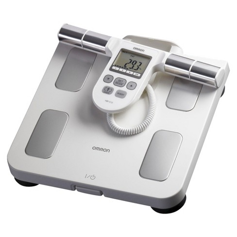 omron digital body fat monitor and weight scale : target