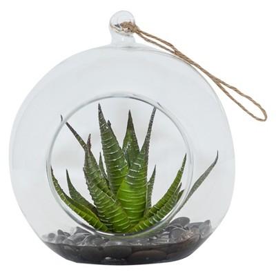 Artificial Succulent Arrangement in Bowl Green 7  - Lloyd & Hannah