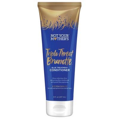 Not Your Mother's Triple Threat Brunette Blue Treatment Conditioner - 8 fl oz