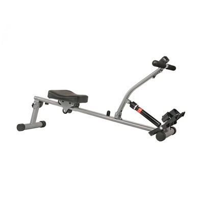 Sunny Health and Fitness Rowing Machine - Silver