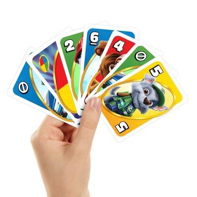 UNO Junior PAW Patrol The Movie Card Game