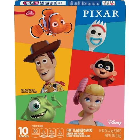 Betty Crocker Pixar Fruit Equities - 8oz/10ct - image 1 of 3