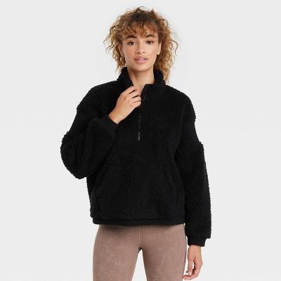 Women's Sherpa 1/2 Zip Pullover - JoyLab™