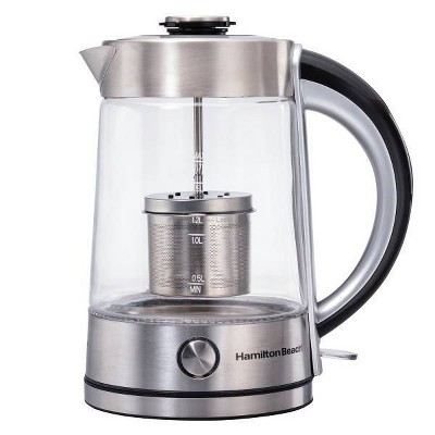 Hamilton  Beach 1.7L Electric Kettle - Silver
