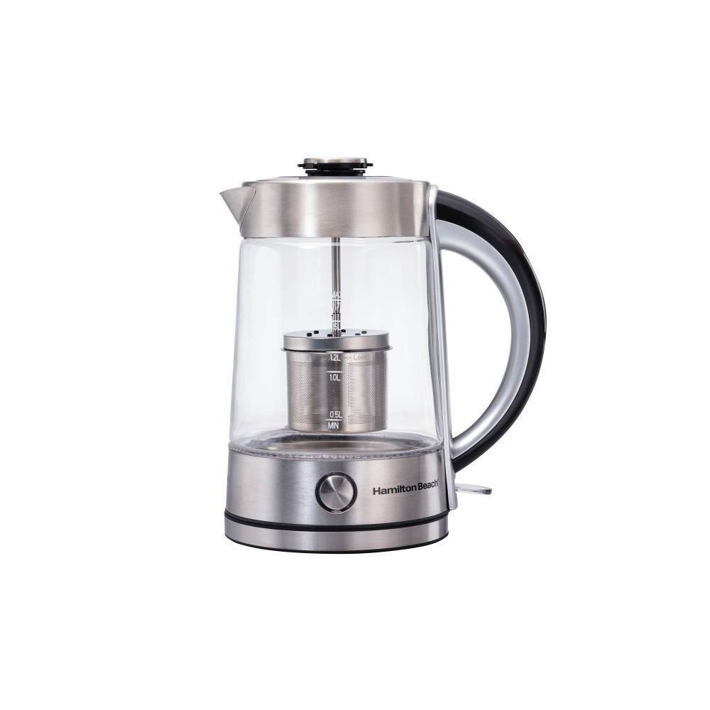 Image of Hamilton Beach 1.7L Electric Kettle - Silver