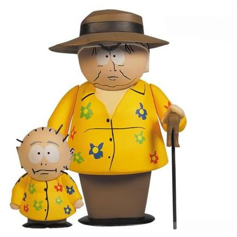 Mezco Toyz South Park Series 5 Mephesto With Kevin Action Figure - image 1 of 1