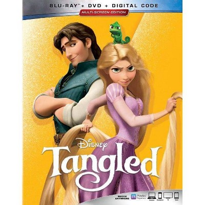 Tangled (Blu-Ray + DVD + Digital)