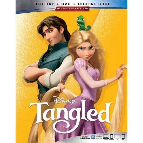 Tangled (Blu-Ray + DVD + Digital) - image 1 of 2