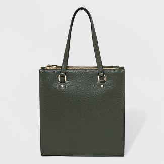 Zipper Tote Handbag - A New Day™ Olive