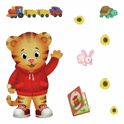 Daniel Tiger Peel and Stick Giant Wall Decals - RoomMates