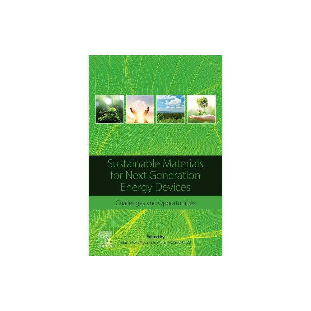 Sustainable Materials For Next Generation Energy Devices By Kuan Yew Cheong Lung Chien Chen Paperback