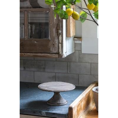 "Park Hill Collection 10"" Round Display Pedestal"