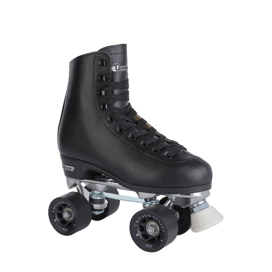 Men's Chicago Deluxe Leather Rink Skates - 9 image number null