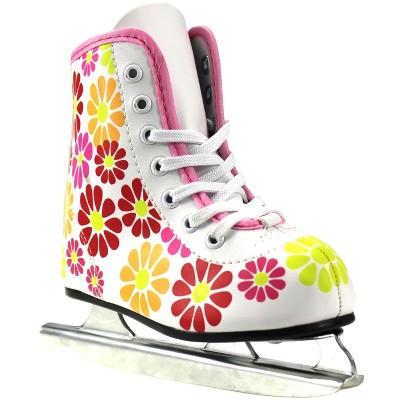American Athletic Flower Power Double Runner Ice Skates