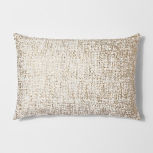 Gold metallic lumbar throw pillow threshold target - What is a throw pillow ...