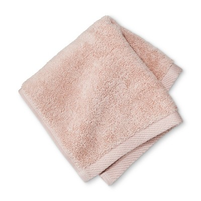 Solid Washcloth Peach - Project 62™ + Nate Berkus™