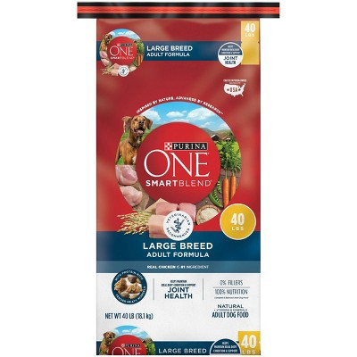 Purina ONE Chicken Adult Large Breed Dry Dog Food - 40lb